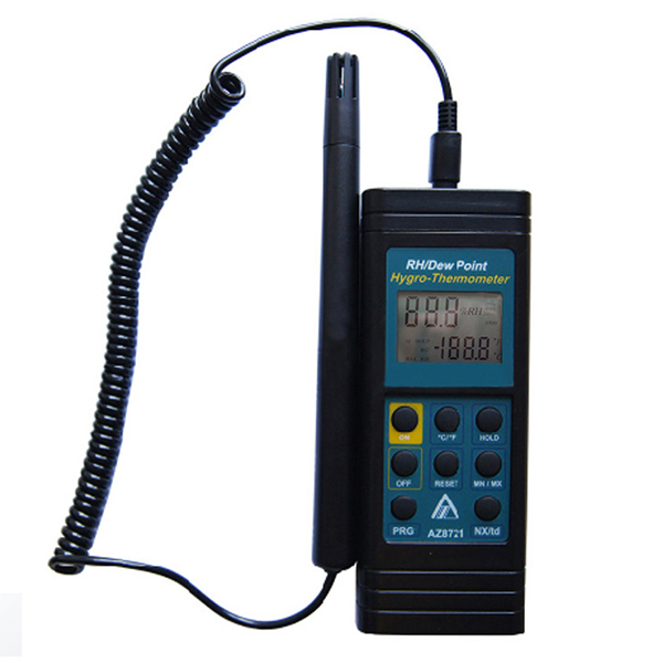 8721 AZ Portable Temperature Humidity Meter