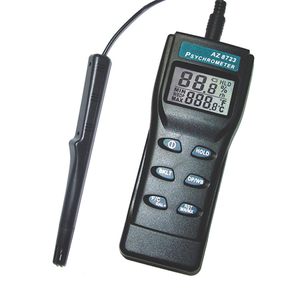 8723 AZ Portable Temperature Humidity Meter