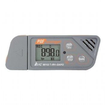 88163 Temp./RH/Baro USB 로거 / PDF 보고서
