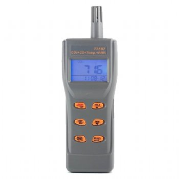 77597 AZ Combo CO2 & CO & Temperature & RH% Recorder