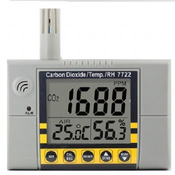 7722 CO2 Temperature Humidity Meter