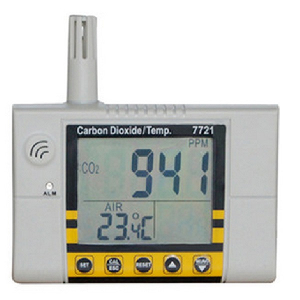 7721 AZ CO2 Temperature Meter