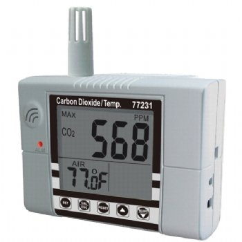 77231 CO2 Temperature Meter