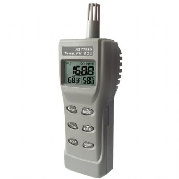 77535 AZ portable CO2 detector