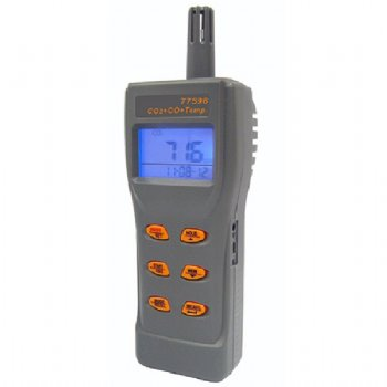 AZ 77596 Combo CO2, CO, Temperature Meter