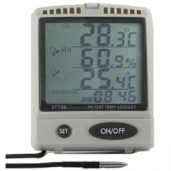 87799 AZ IN/OUT TEMP. & RH % SD Card Data Logger