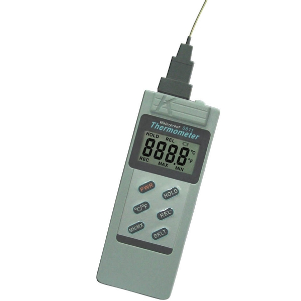 8811 AZ Waterproof K Type Thermocouple Thermometer