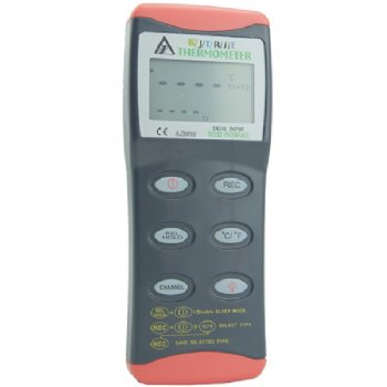 8855 AZ Single Input Type K, J, T, R, S, E Thermocouple Thermometer